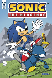 Sonic The Hedgehog #5 B Kieran Gates Variant Nm Rare Comic