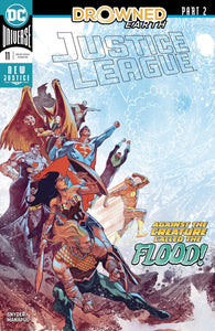 Justice League #11 A Francis Manapul Vf+/nm 1St Print Comic