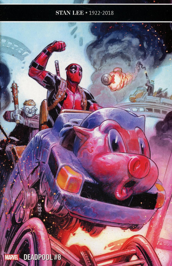 Deadpool Vol 6 #8 A Regular Nic Klein NM 2019