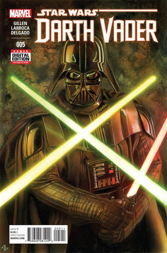 Star Wars DARTH VADER #5 A ADI GRANOV VF+/NM+