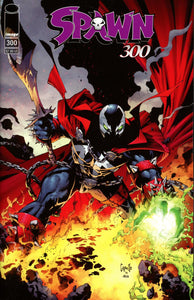 Spawn #300 C Greg Capullo Variant  VF+/NM+