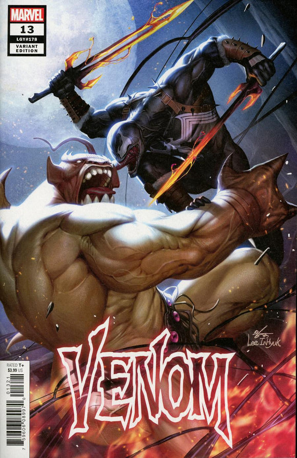 Venom #13 B Variant Inhyuk Lee Asgardian Cover Nm Comic