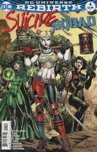 Suicide Squad #4 A Jim Lee VF+/NM+