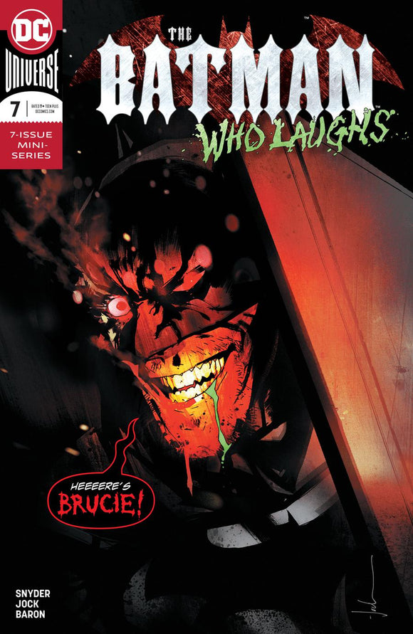 BATMAN Who Laughs #7 A JOCK 1st print NM