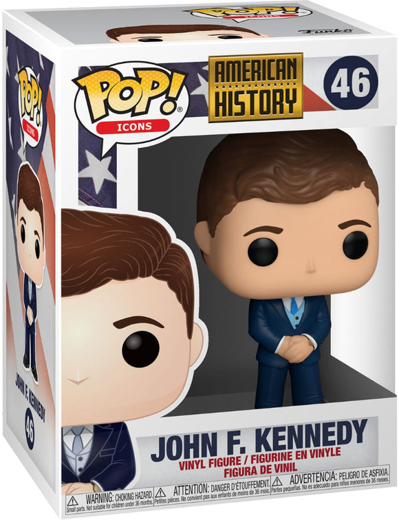 Funko Pop! Icons - American History - John F. Kennedy in stock now