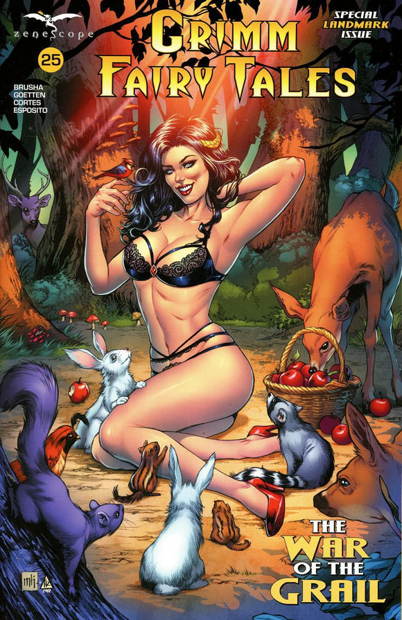 Grimm Fairy Tales #25 H Mike Krome Variant Vf+/nm+ Comic