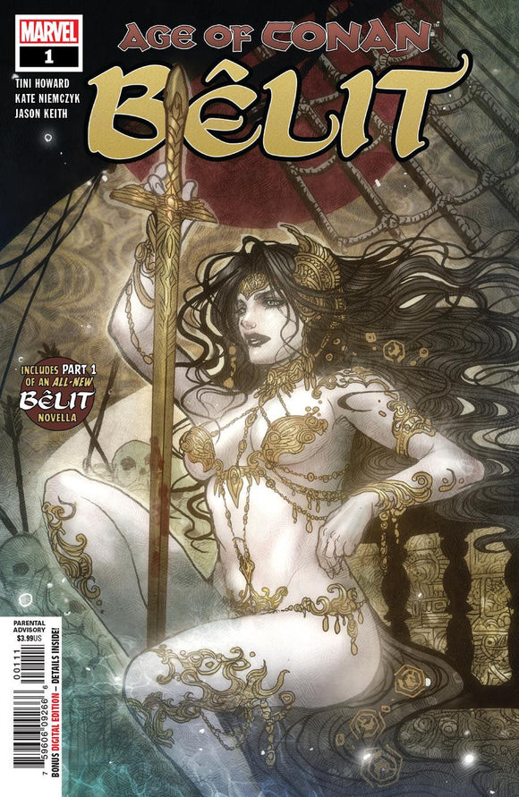Age Of Conan Belit Queen Of The Black Coast #1 A Sana Takeda Nm 1St Print Comic