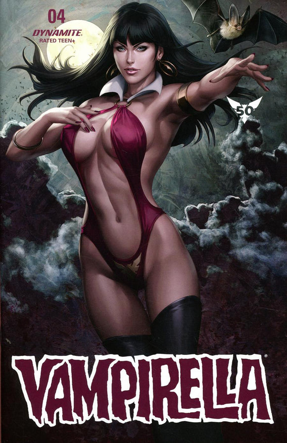 Vampirella Vol8 #4 A Regular Stanley Artgerm Lau VF+/NM+