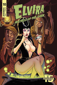 ELVIRA MISTRESS OF THE DARK #10 A Tim Seeley VF+/NM+
