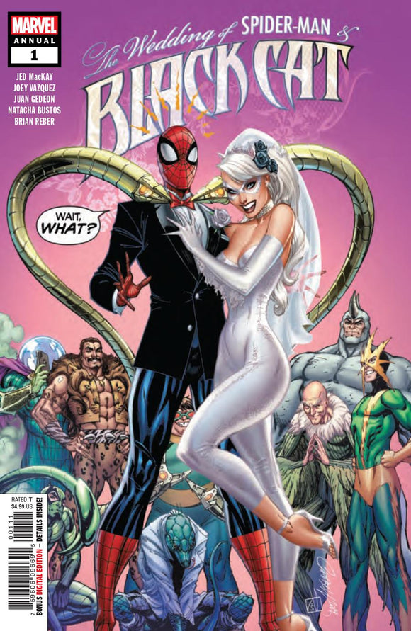 Black Cat Annual #1 J Scott Campbell VF+/NM+