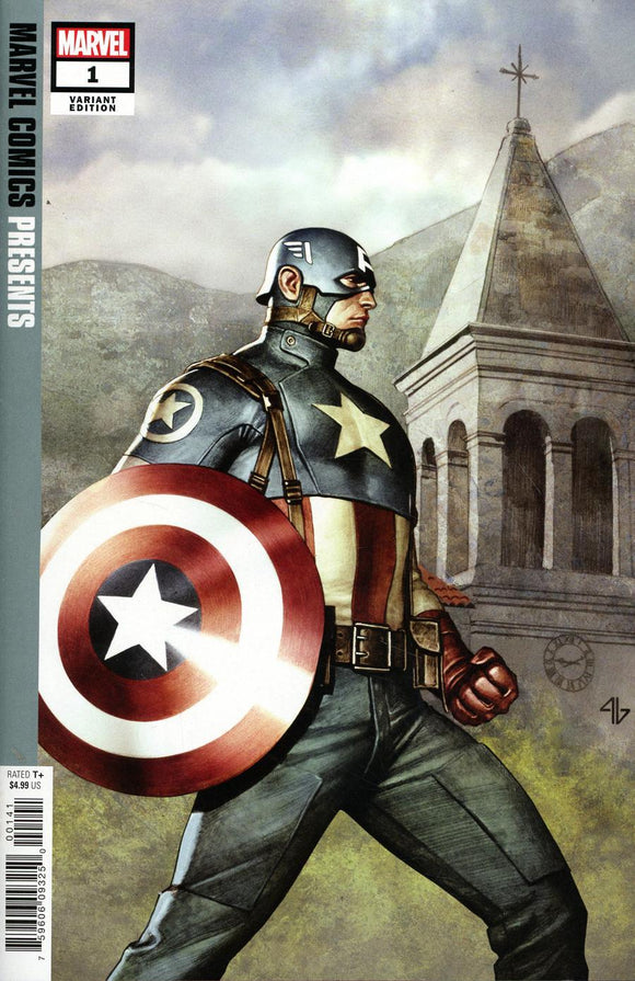 Marvel Comics Presents Vol 3 #1 C Adi Granov Hidden Gem Variant Nm Comic