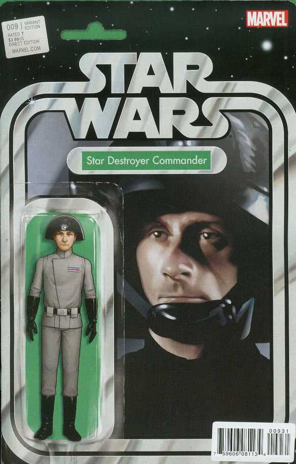 Star Wars #9 B Tyler Christopher Figure Variant Nm Commander Comic