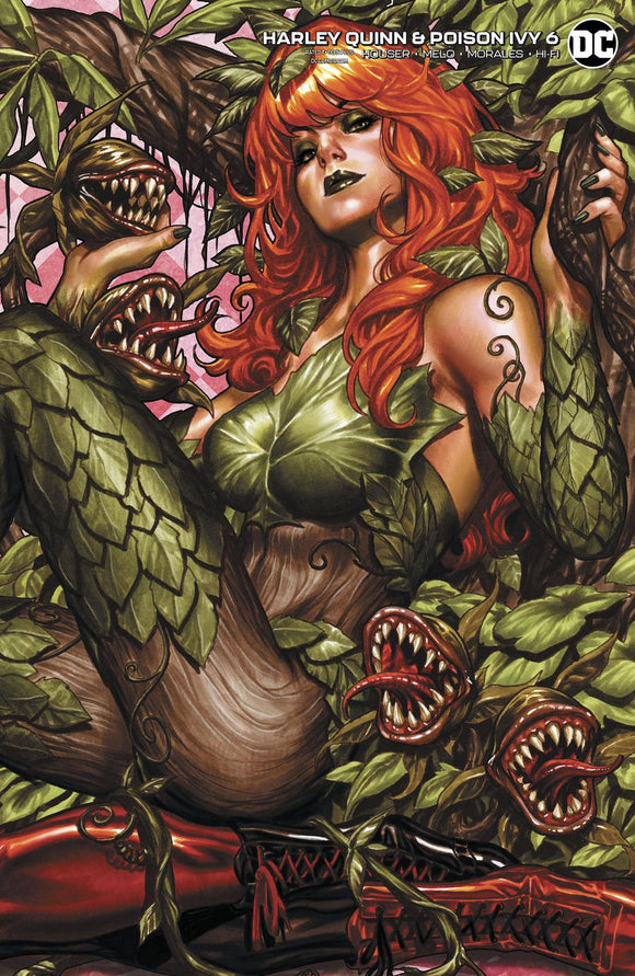 Harley Quinn And Poison Ivy #6 C Mark Brooks Variant VF+/NM+