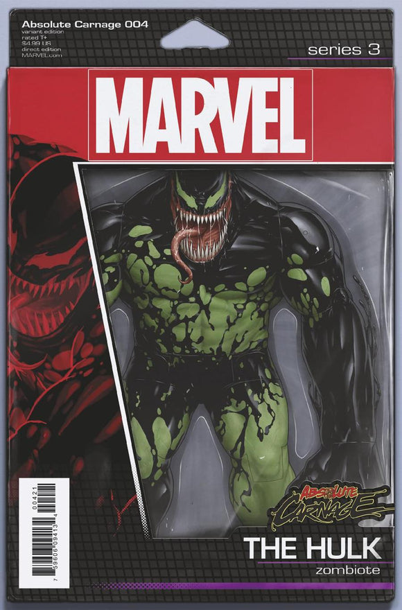 Absolute Carnage Hulk Zombiote #4 Tyler Christopher Figure Variant NM