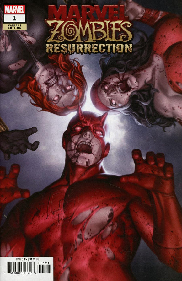 Marvel Zombies Resurrection #1 B Junggeun Yoon Variant NM