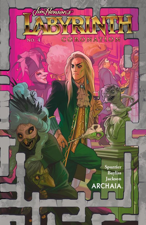 Jim Henson's Labyrinth Coronation #4 A Fiona Staples VF+/NM+