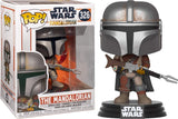 Funko Pop! Star Wars™ The Mandalorian #326 box with creases