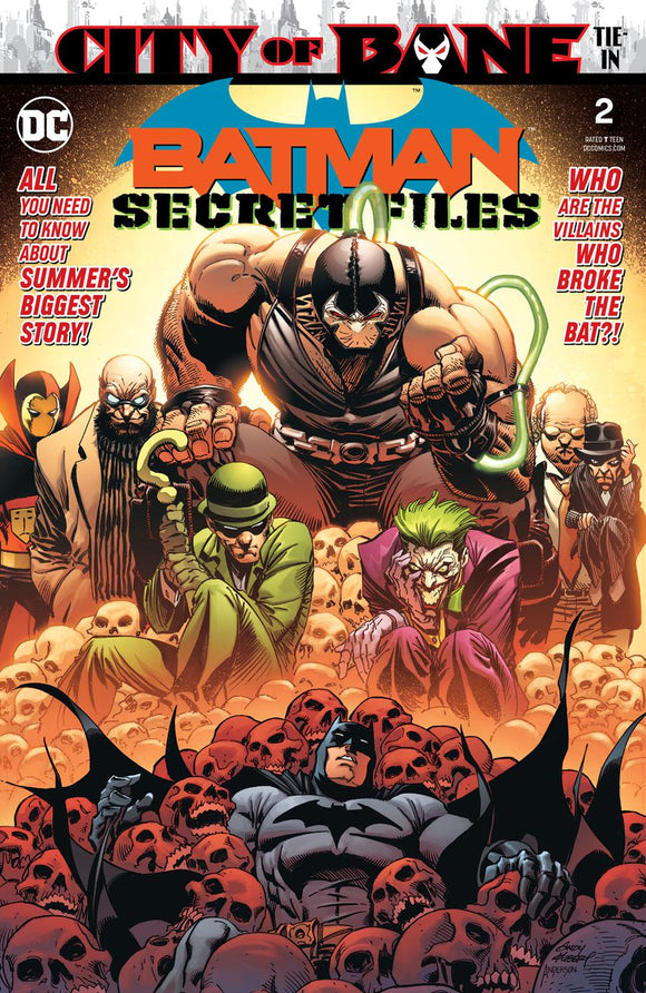 Batman Secret Files #2 Andy Kubert  VF+/NM+