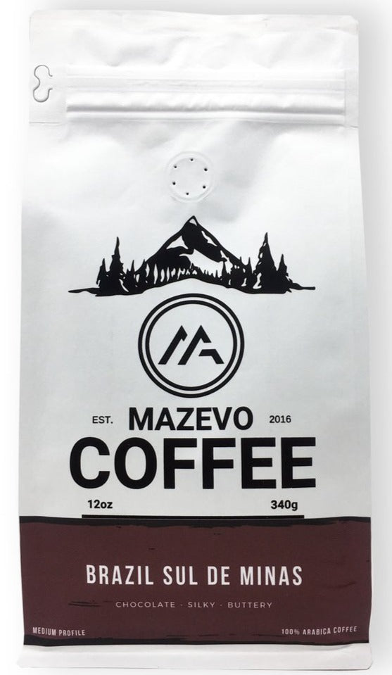 Brazil Sul de Minas 12oz fresh roast coffee - MAZEVO Coffee