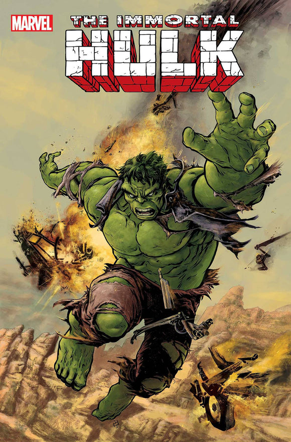 Immortal Hulk Great Power #1 B Max Fiumara Variant VF+/NM+