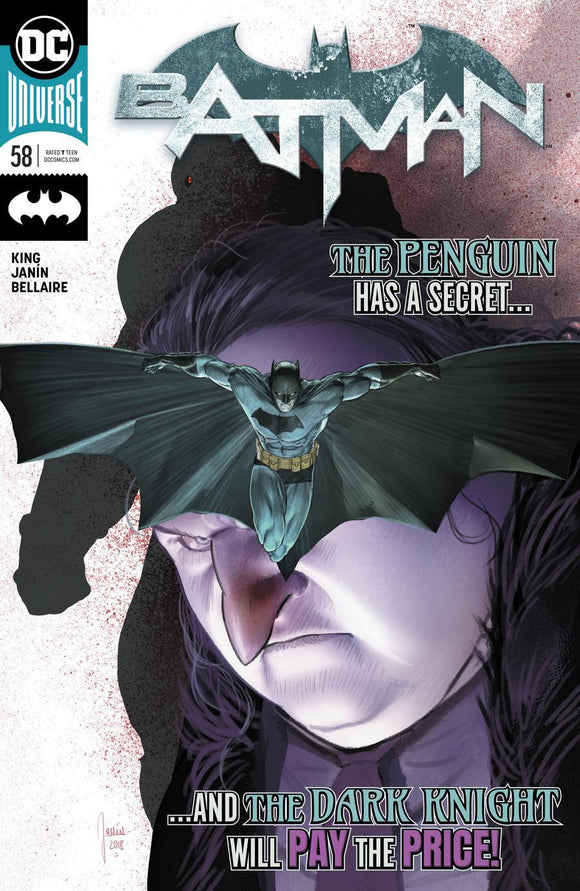 Batman #58 A Mikel Janin Vf+/nm+ Comic