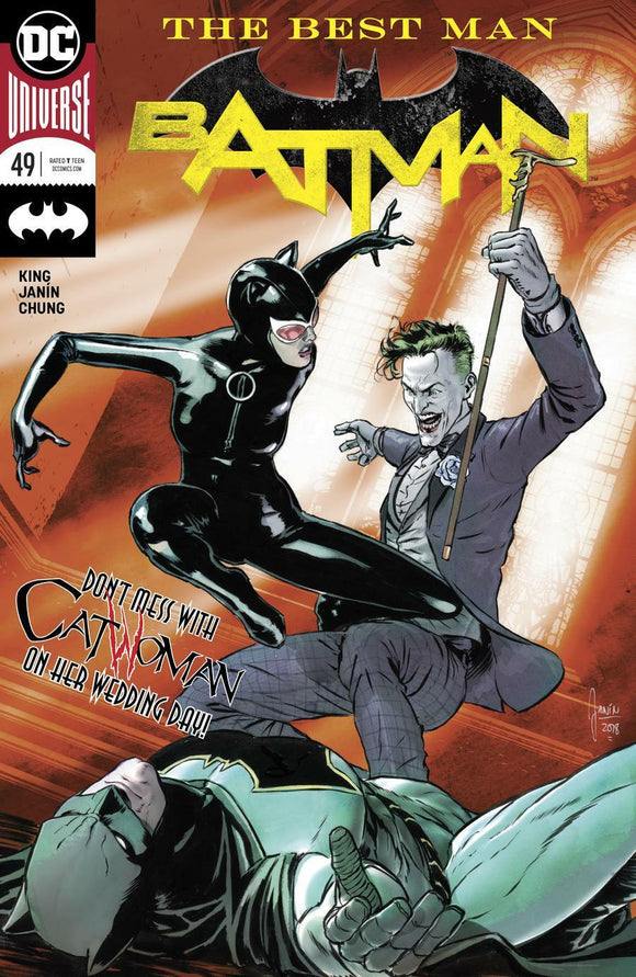 BATMAN #49 A Mikel Janin Cover VF+/NM+