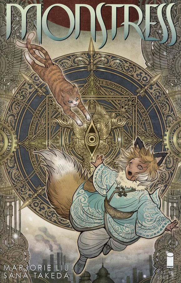 Monstress # 3 Sana Takeda Variant 1St Print Image Comics Sold Out Rare Nm/nm+ Comic