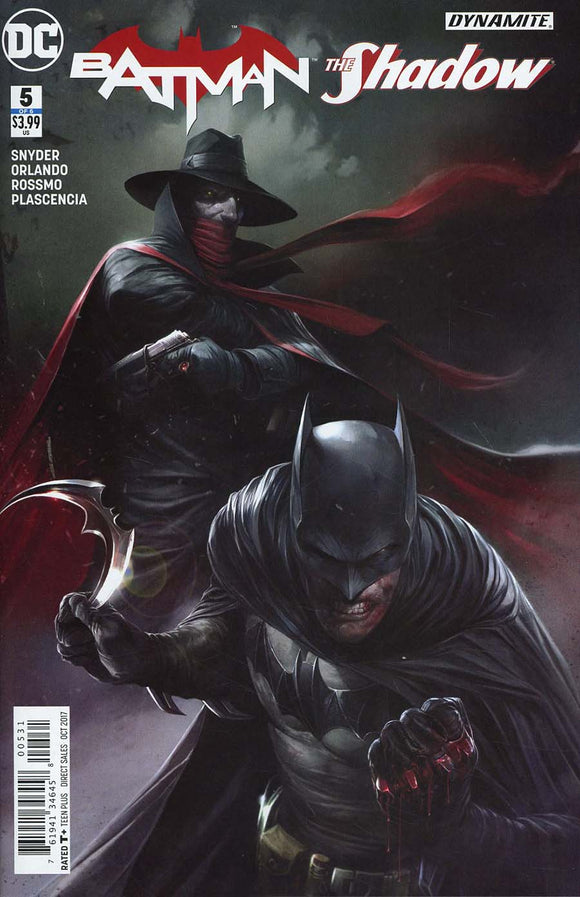 BATMAN SHADOW #5 C  Francesco Mattina Variant VF+/NM+