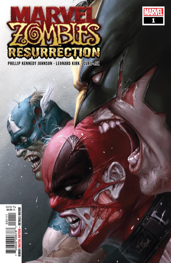 Marvel Zombies Resurrection #1 A Inhyuk Lee NM 1st print