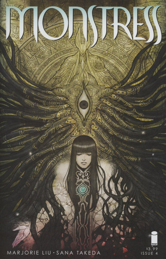 Monstress #4 Sana Takeda  NM 1st print