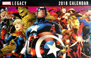 MARVEL Legacy 2018 Calendar Superheroes Spider-Man Thor  VF+/NM