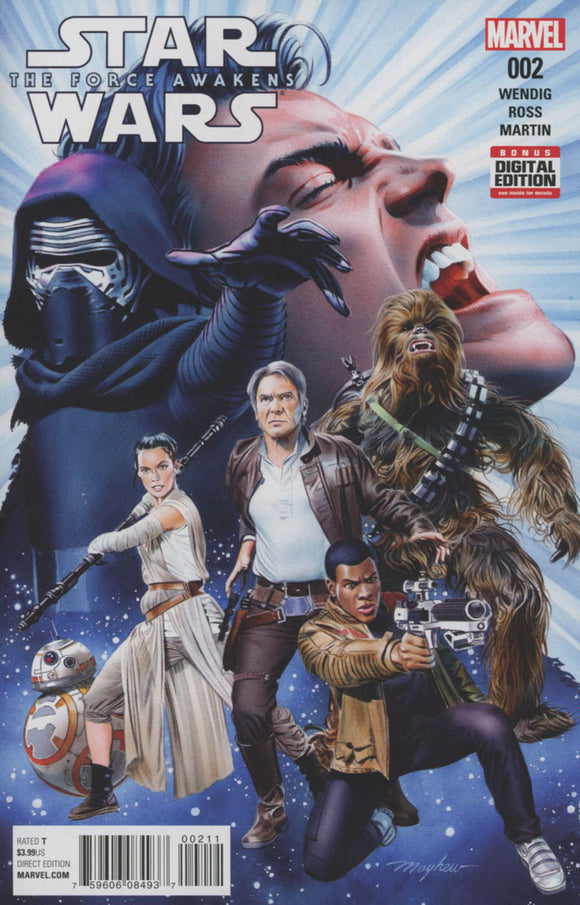 Star Wars Episode VII The Force Awakens Adaptation #2 Mayhew VF+/NM+