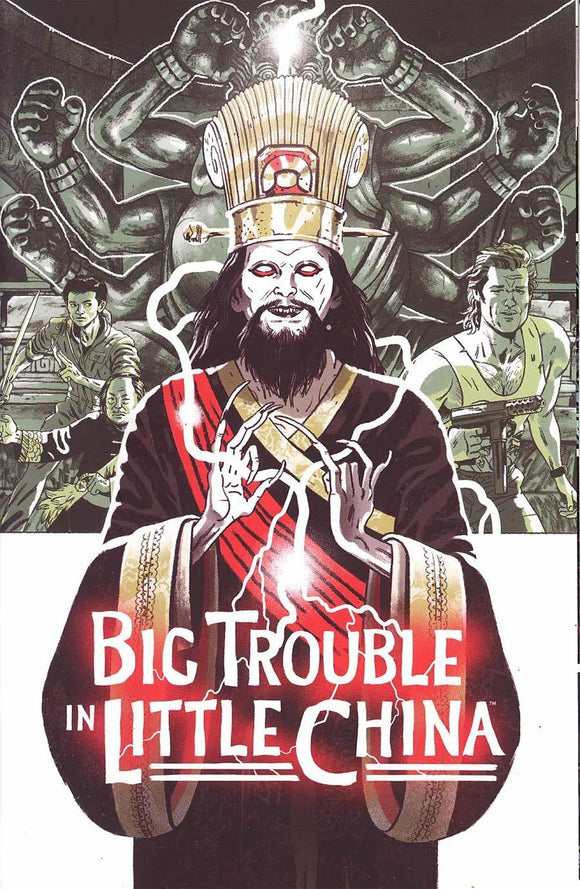 Big Trouble in Little China OLD MAN JACK #1B Bosma 2017 BOOM VF+/NM+