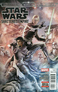 Shattered Empire Journey to Star Wars Force Awakens #4 NM Checchetto