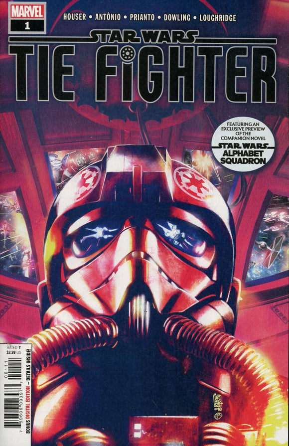Star Wars Tie Fighter #1 A Giuseppe Camuncoli & Bonetti Vf+/nm+ Comic