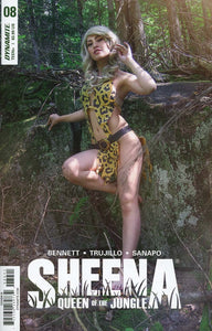 Sheena #8 D Cosplay Photo Variant Nm Comic