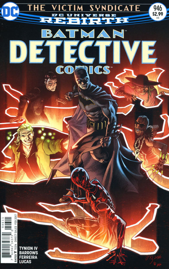 BATMAN Detective #946 A Regular Fabok Cover VF+/NM+