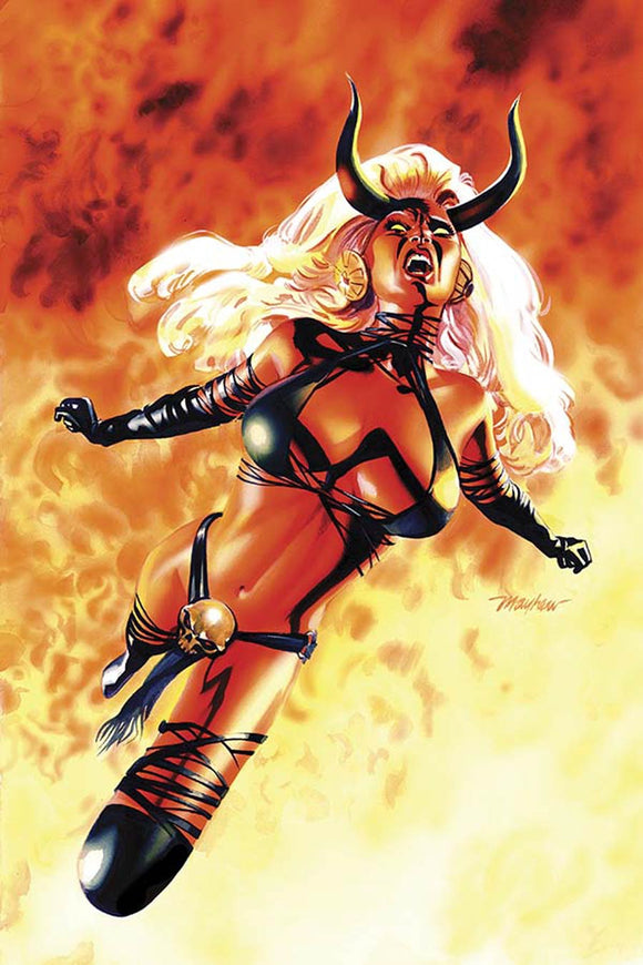 Lady Demon Vol2 #1 O Mike Mayhew Virgin Variant VF+/NM+
