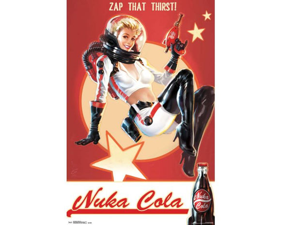 FALLOUT 4 - NUKA COLA - ZAP THAT THIRST!