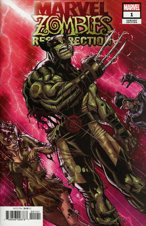 Marvel Zombies Resurrection #1 Nick Bradshaw Variant NM
