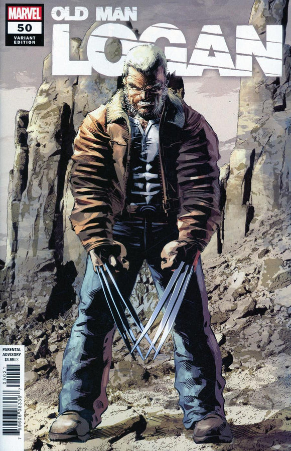 Old Man Logan #50 B Mike Deodato Jr Final Issue Variant Vf+/nm+ Comic