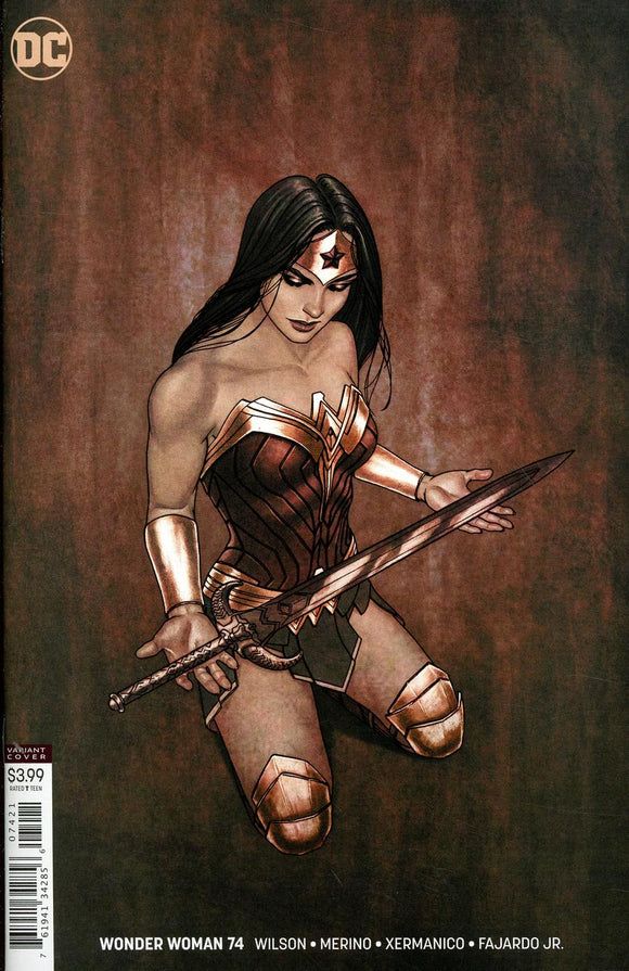 Wonder Woman #74 B Jenny Frison Variant VF+/NM+