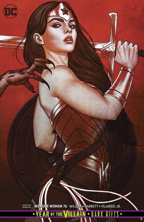 Wonder Woman #76 B Jenny Frison Variant VF+/NM+
