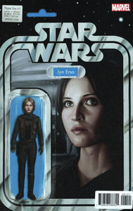 Star Wars Rogue One #1 John Tyler Christopher Jyn Action Figure Variant Nm Comic