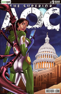 Superior AOC #1 G Incentive Mel Joy San Juan Arms Out Variant NM