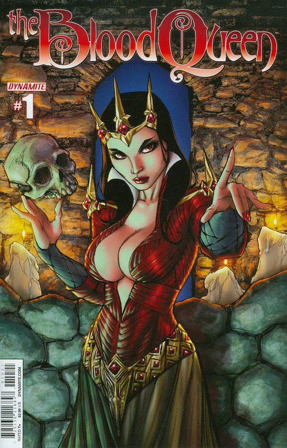 Blood Queen #1 B Ale Garza Variant VF+/NM+