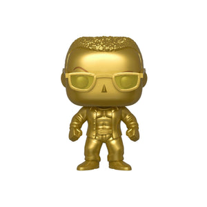 Funko POP WWE SmackDown Live 20th AnnivThe Rock Gold Metallic NYCC   instock