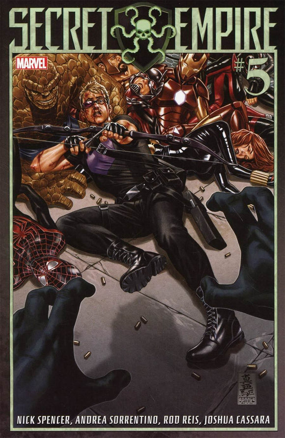 SECRET EMPIRE #5 A Regular Mark Brooks VF+/NM+