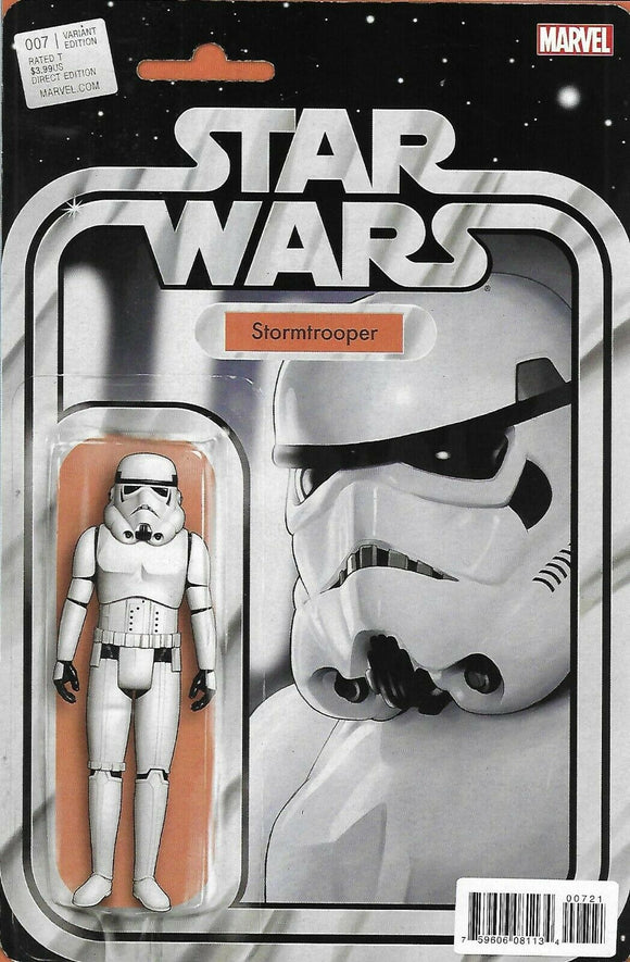 Star Wars #7 B John Tyler Christopher Stormtrooper Variant VF+/NM+