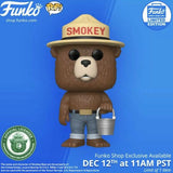 Funko POP AD ICONS SMOKEY THE BEAR WITH BUCKET exclusive in stock